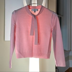 NWOT ST. JOHN Collection pink sweater